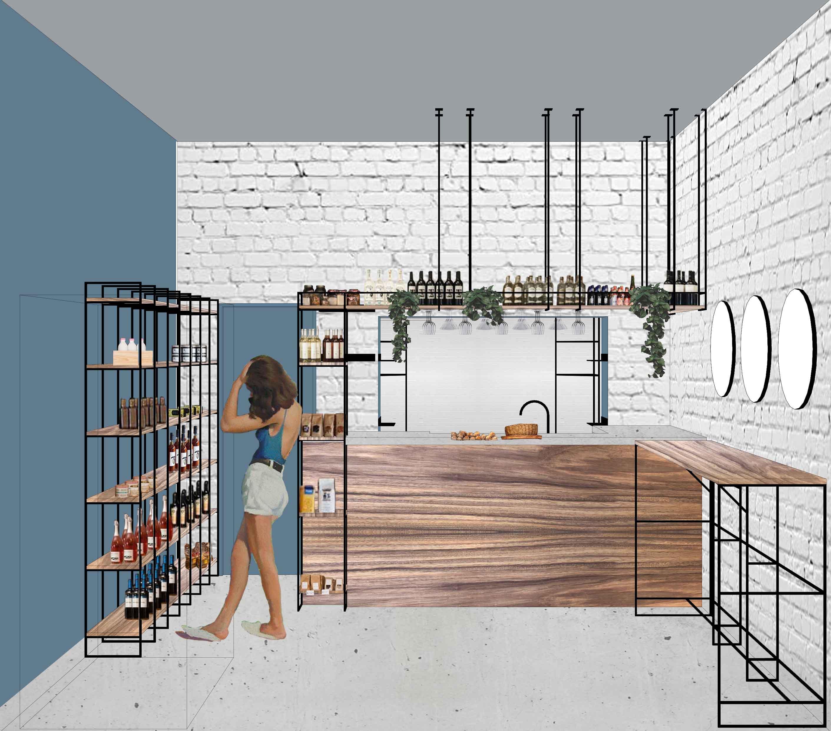 diseño de restaurante cafeteria